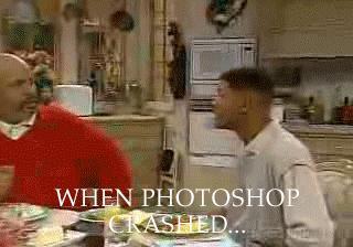 Kiedy Photoshop zatnie się bez zapisywania