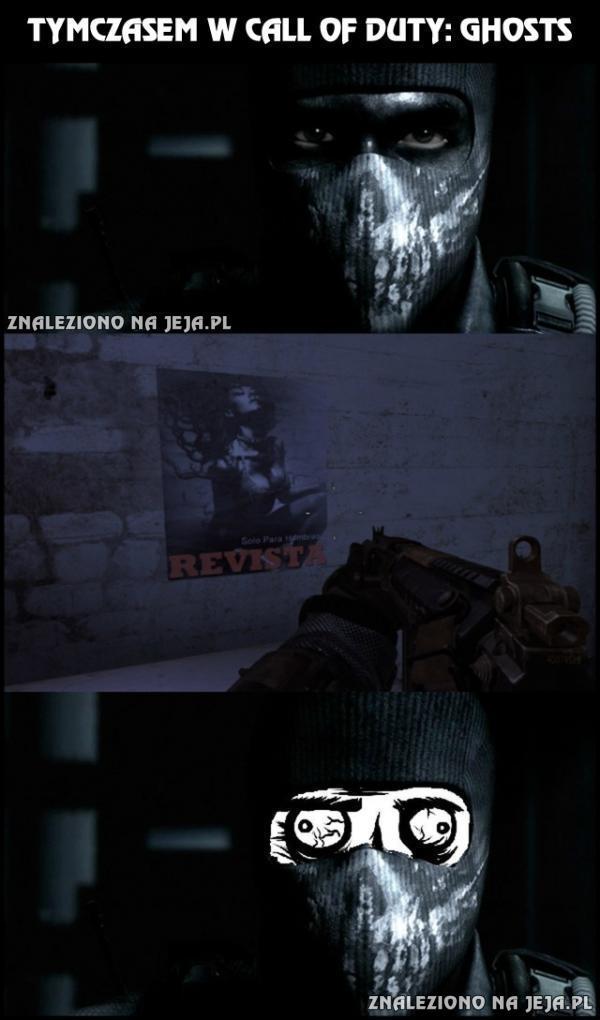 Tymczasem w Call of Duty: Ghosts