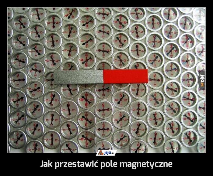 Jak przestawić pole magnetyczne