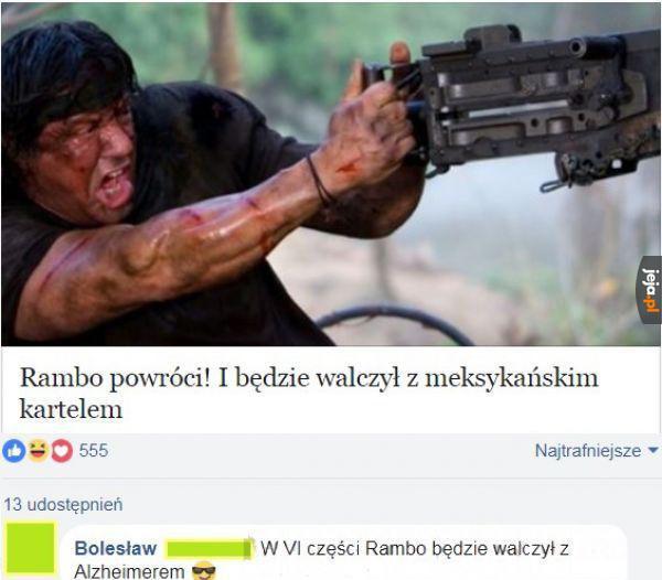 Rambo powróci