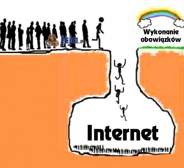 Smutna prawda o internecie