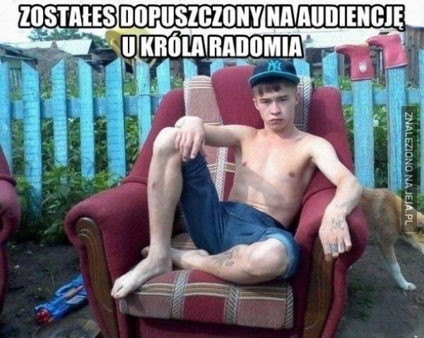 Zostałeś dopuszczony na audiencję