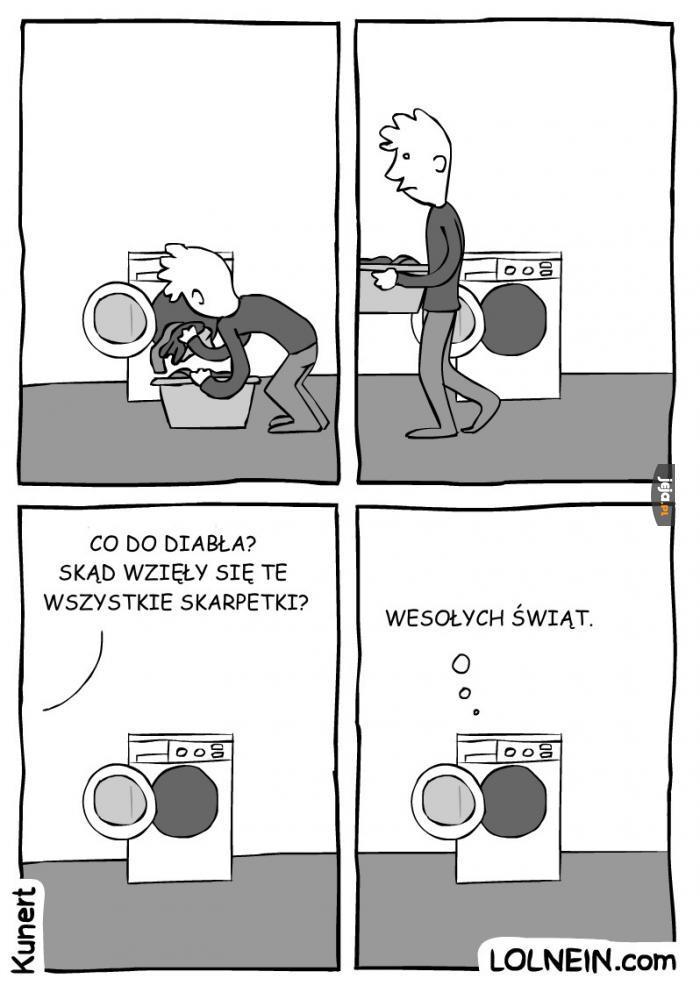Prezent od pralki