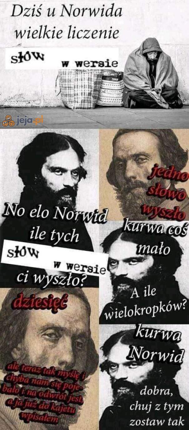 Wielkie liczenie u Norwida