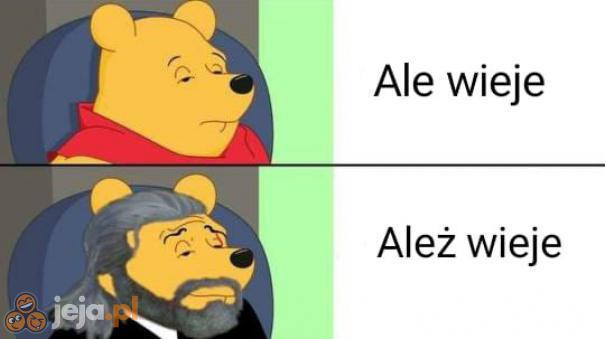 Geralt zna się na wiatrach
