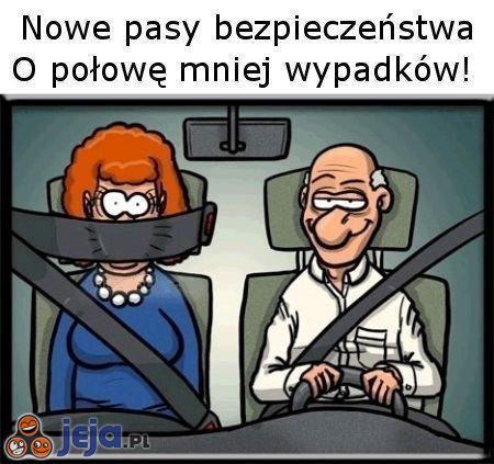 Nowe pasy bezpieczeństwa