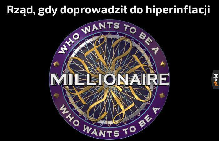 Przynajmniej przeciętny człowiek może dzięki temu zarabiać miliony