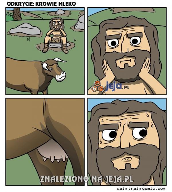 Jak człowiek odkrył mleko