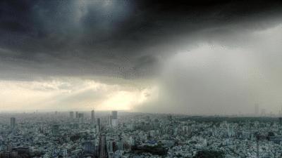 Burza nad Nowym Jorkiem