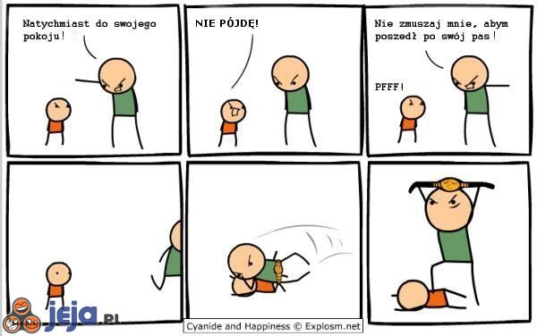 Kłótnia z ojcem