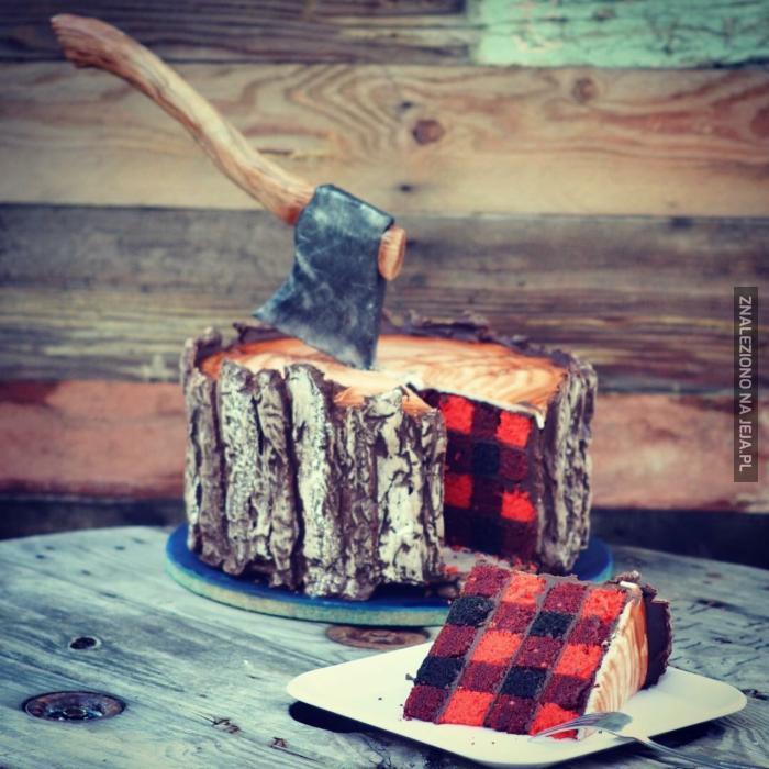 Ciasto dla drwala