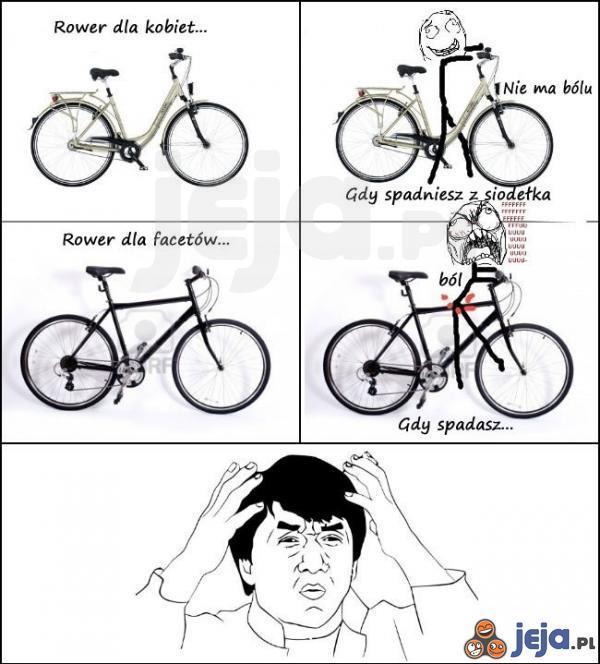 Coś co zawsze mnie zastanawiało w rowerach