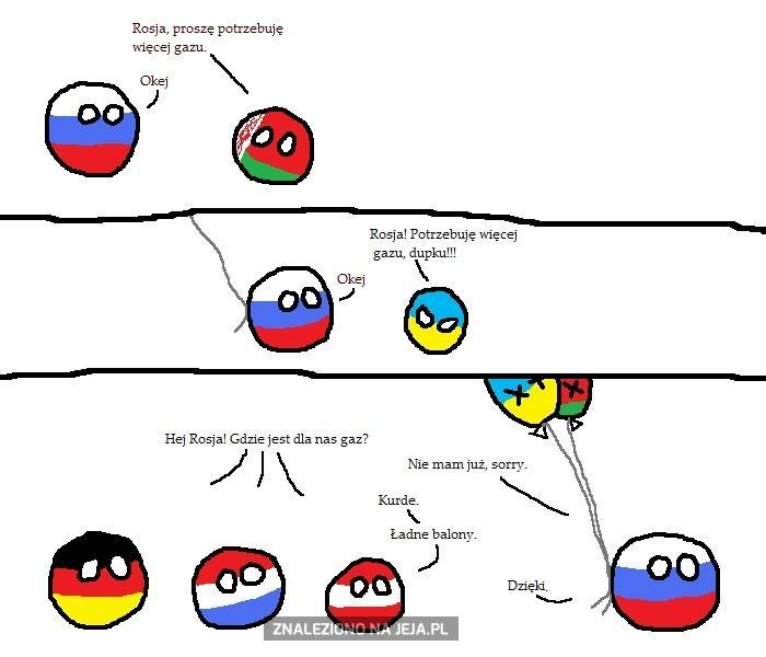 Rosja gazu!