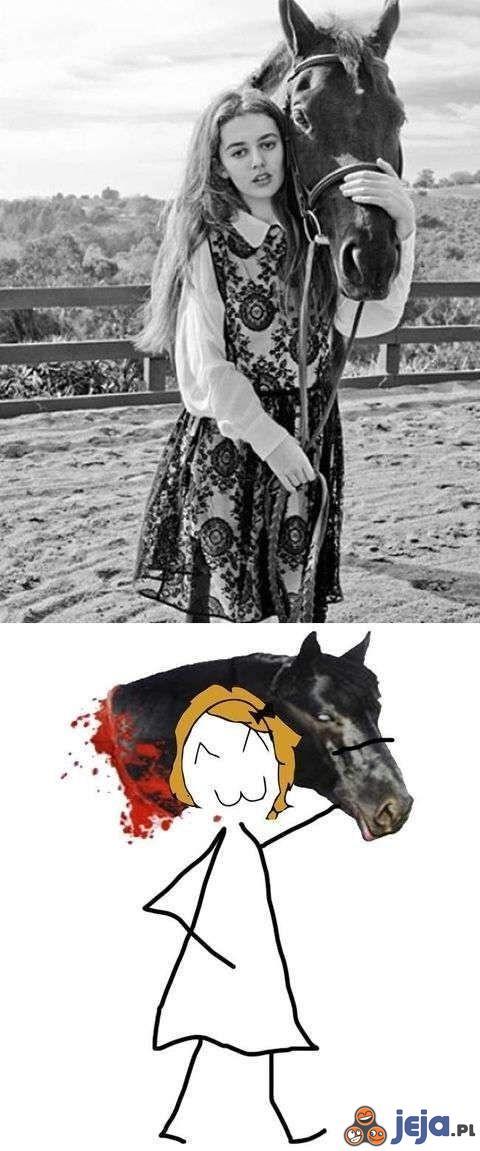 Co jest nie tak z tym koniem?