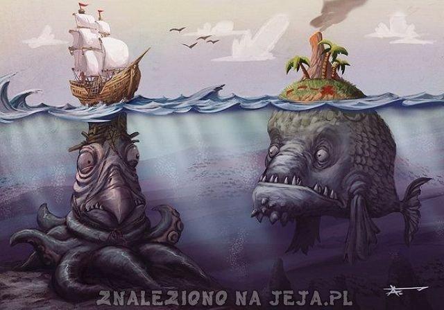 Mutacje wodnych stworzeń