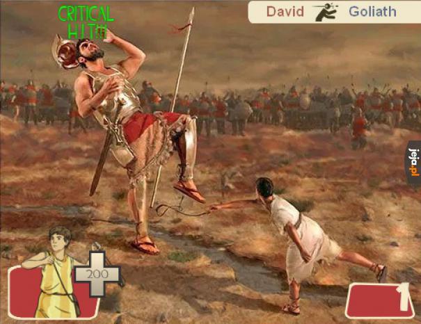 Dawd vs Goliat