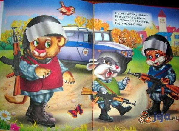 Książka dla rosyjskich dzieci