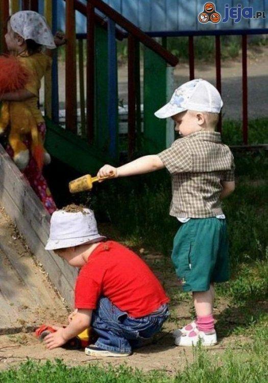 Zabawy dzieci