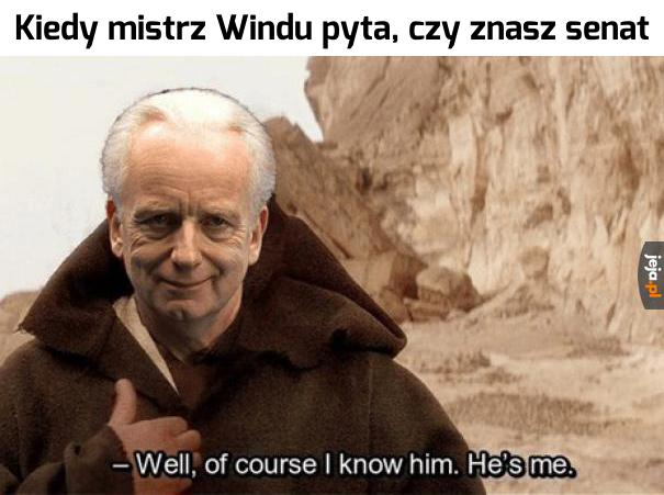 Jak mógłby go nie znać?