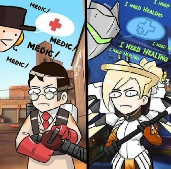 Ciężkie życie healera
