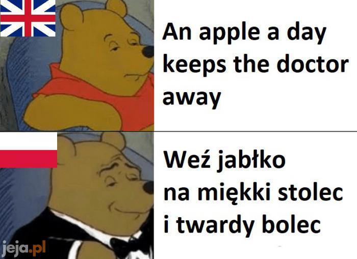Przysłowia o jabłkach