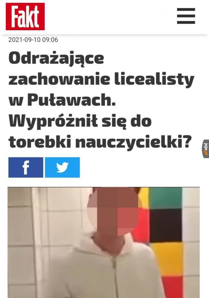 Gazety podłapały temat