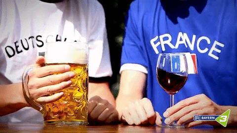 Historia stosunków francusko-niemieckich na podstawie jednego gifa