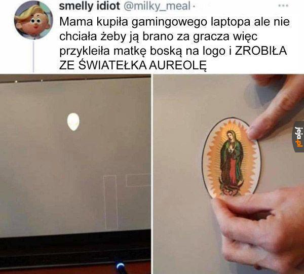 Matka Boska Laptopowa