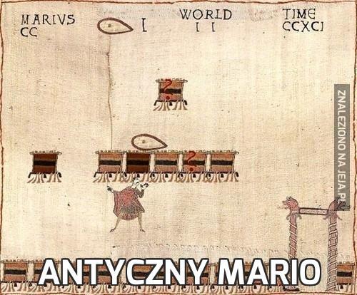 Antyczny Mario