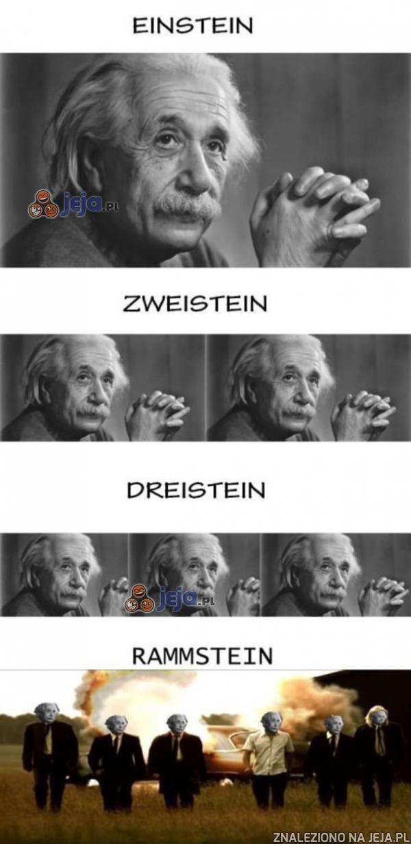 Ile Einsteinów potrzeba, by zrobić Rammstein?