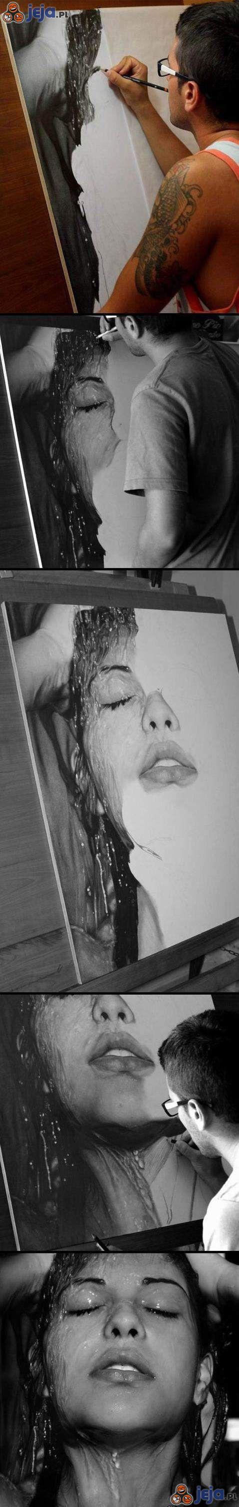 Fotorealistyczny rysunek