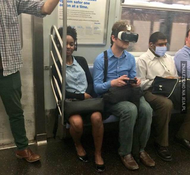 Gracz w komunikacji miejskiej