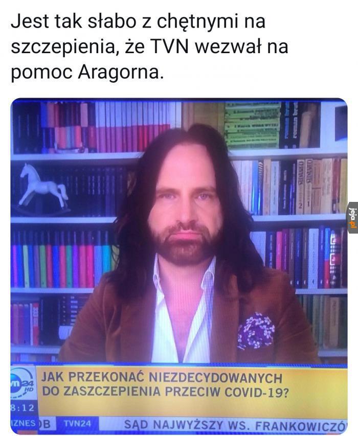 Aragorn po roku w Polsce