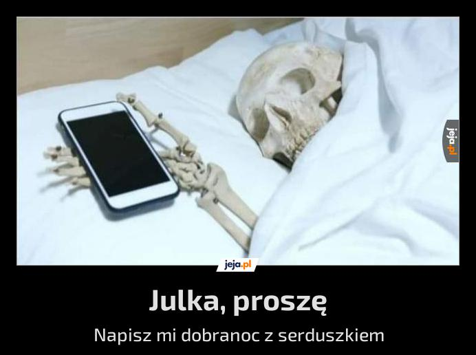 Demotywator ze szkieletem tak to on