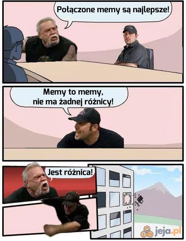 A Ty co sądzisz o łączeniu memów?