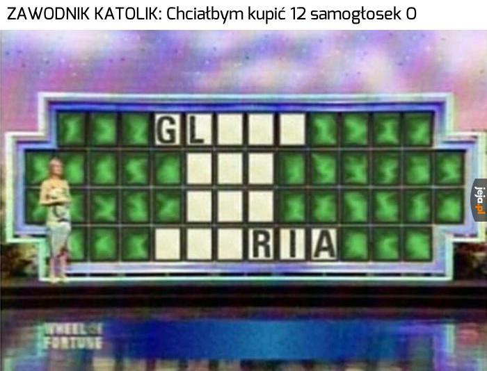 Gloooooria!