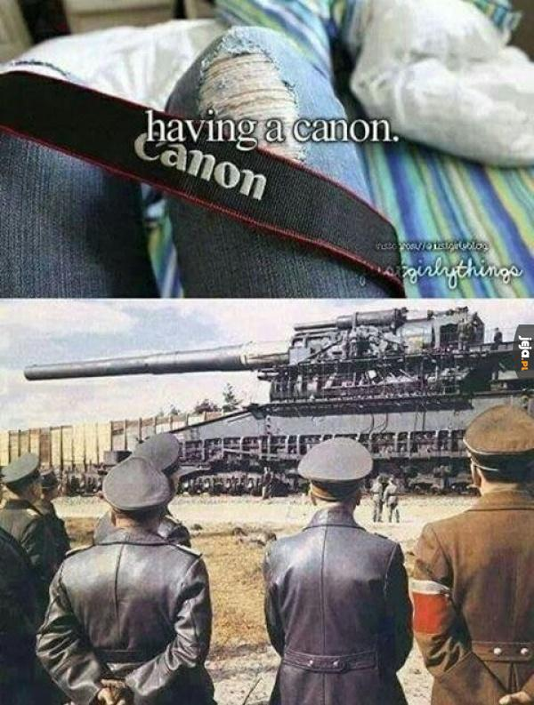Taki Canon to ja rozumiem!