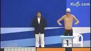 Jak wygrać zawody pływackie w Chinach