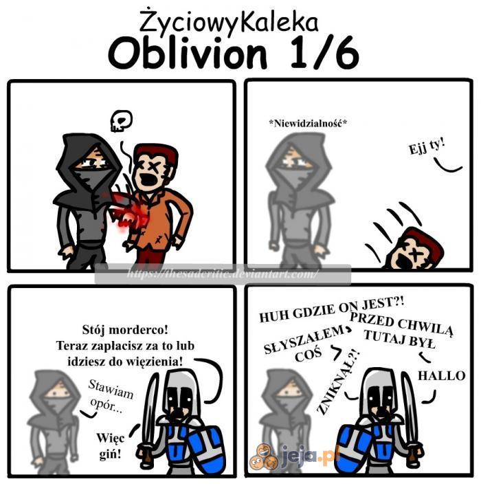 Logika Obliviona i Skyrima