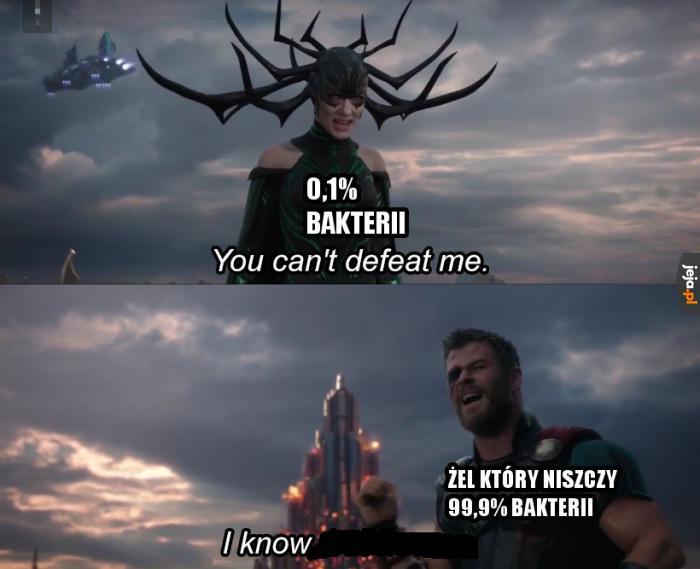 Nie pokonasz