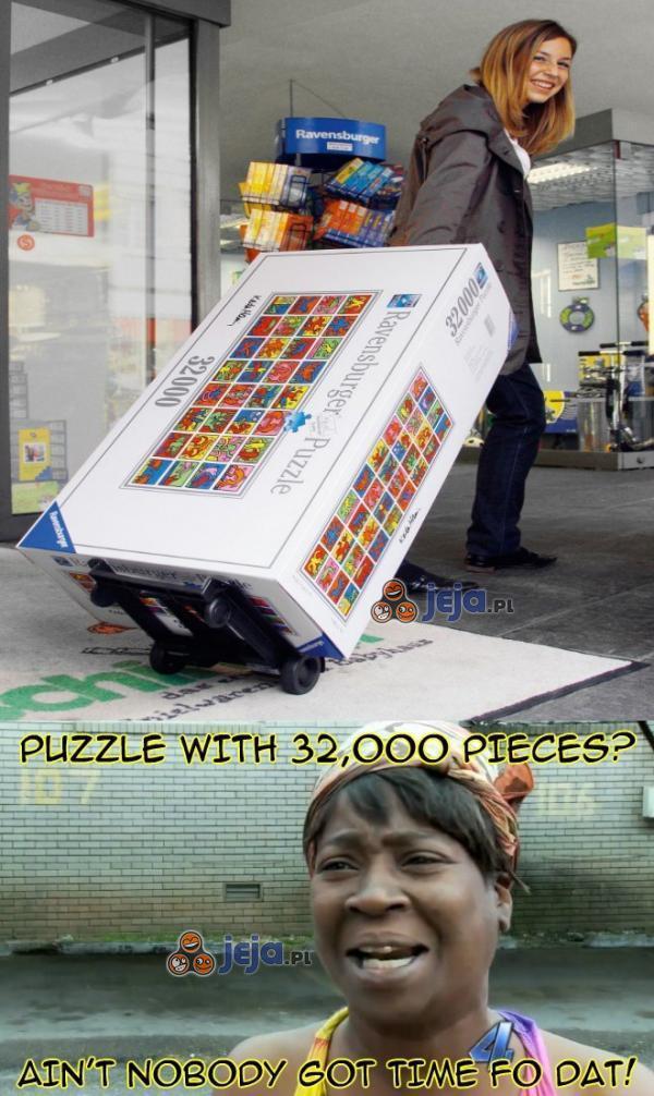 Puzzle na 32000 elementów