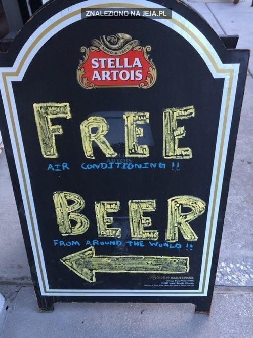 Darmowe piwo