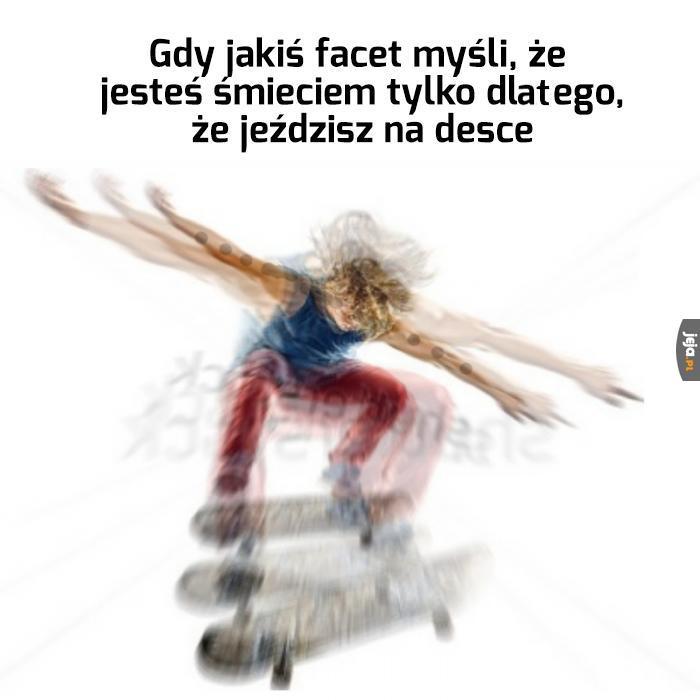 Problemy skate'ów
