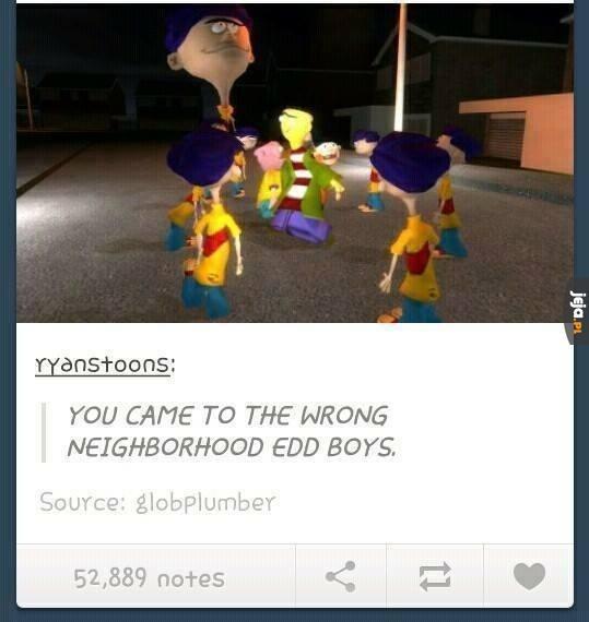 Zła dzielnica, Edd