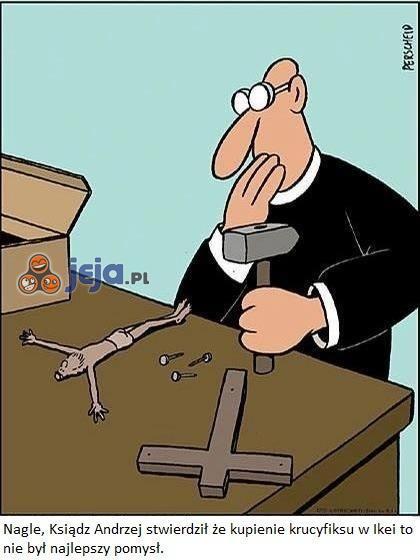 Krucyfiks z Ikei