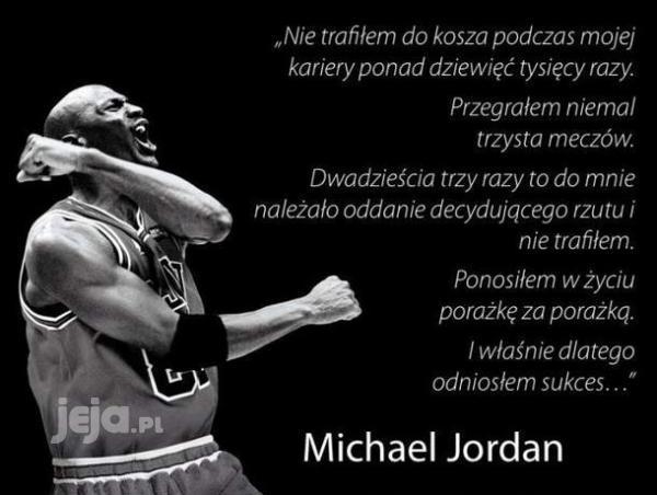 Tajemnica sukcesu Michaela Jordana