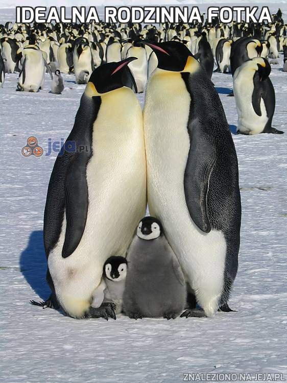 Idealna rodzinna fotka