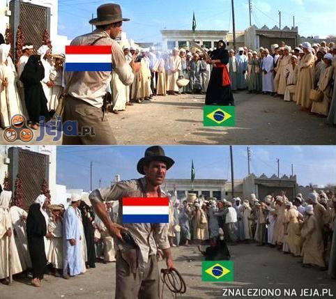 Trzy celne strzały Holandii