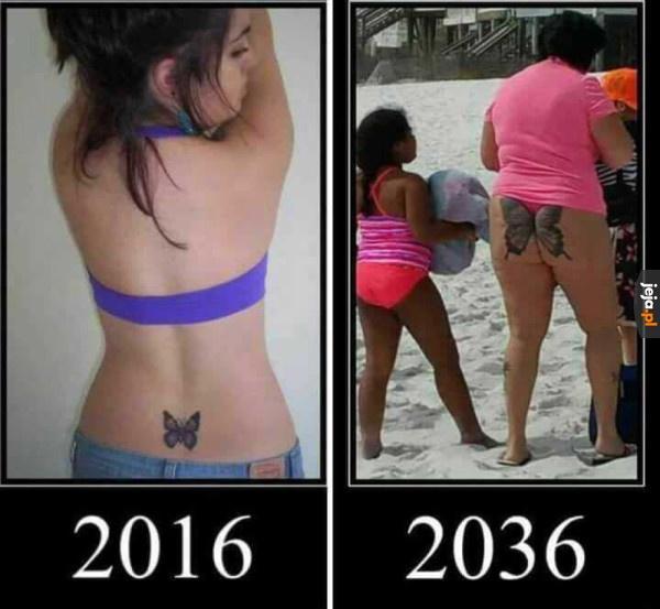 Pomyśl, zanim zrobisz tatuaż