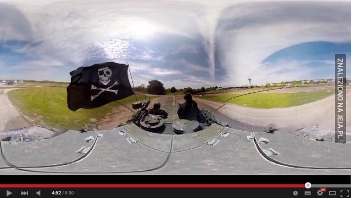 Film z kamery sferycznej bez efektu sfery